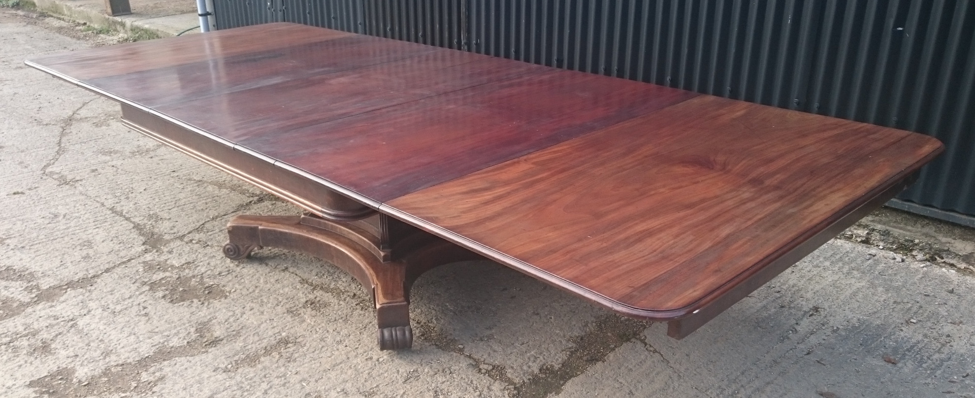 07ef3e4cdadd ... 1403201919th Century George IV Mahogany Extending Antique Breakfast Table  Dining Table 60 long 135¾ long 54 ...
