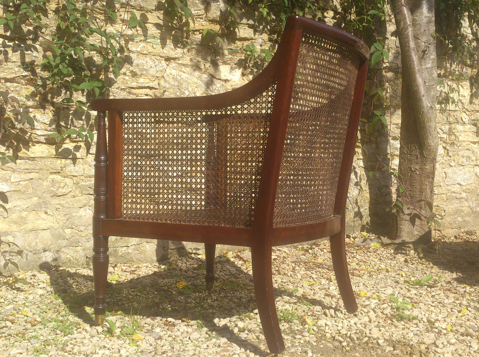 Antique Bed: Antique Wing Chairs