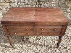 Gillow of Lancaster and London antique secretaire wash stand2.jpg