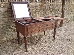 Gillow of Lancaster and London antique secretaire wash stand3.jpg