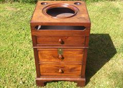 Antique pot cupboard and washstand.jpg
