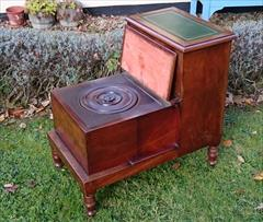 13102017Antique 19th century mahogany step commode 17½w 26h 27d _6.JPG