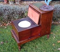 13102017Antique 19th century mahogany step commode 17½w 26h 27d _8.JPG
