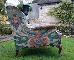 1611201719th Century Antique Howard and Sons Amchair 37d max 32d legframe 31w 18h seat 38½h max _6.JPG