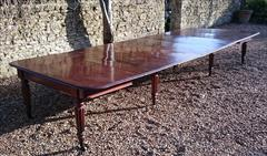 1801201819th Century Extending Antique Dining Table James Winter Mahogany 66w 57½L 177L 29h leaves 24½ 24 24½ 24½ 9½ 12 Leaf Holder 13½w 31½d 74h 111701 _30.JPG