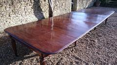 1801201819th Century Extending Antique Dining Table James Winter Mahogany 66w 57½L 177L 29h leaves 24½ 24 24½ 24½ 9½ 12 Leaf Holder 13½w 31½d 74h 111701 _32.JPG