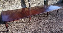 1801201819th Century Extending Antique Dining Table James Winter Mahogany 66w 57½L 177L 29h leaves 24½ 24 24½ 24½ 9½ 12 Leaf Holder 13½w 31½d 74h 111701 _34.JPG