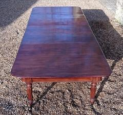 1801201819th Century Extending Antique Dining Table James Winter Mahogany 66w 57½L 177L 29h leaves 24½ 24 24½ 24½ 9½ 12 Leaf Holder 13½w 31½d 74h 111701 _43.JPG