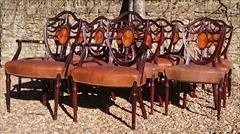 0902201814 Antique Dining Chairs single 38h 19hs 22w 20d carvers 19hs 39½h 27w 23d _12.JPG