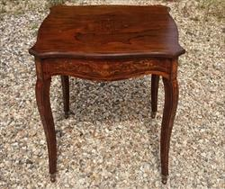 16052018Antique Centre Table Rosewood 27¼ 27½ 29½ high _1.JPG