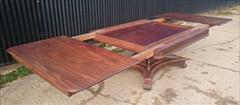 0204201919th Century George IV Mahogany Extending Antique Breakfast Table Dining Table 60 long 135¾ long 54 wide 28½ high leaves 26½ 26½ 22¼ _22.JPG