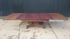 0204201919th Century George IV Mahogany Extending Antique Breakfast Table Dining Table 60 long 135¾ long 54 wide 28½ high leaves 26½ 26½ 22¼ _23.JPG