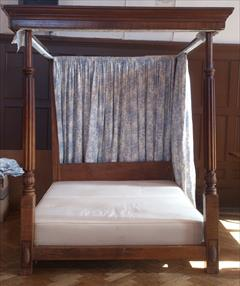 Mahogany antique four poster bed.jpg