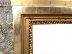 Regency gilded and decorated antique pier glass mirror5.jpg