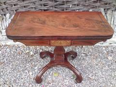 Regency mahogany antique card table.jpg