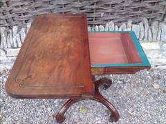 Regency mahogany antique card table5.jpg