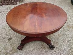 William IV mahogany extending antique breakfast table1.jpg