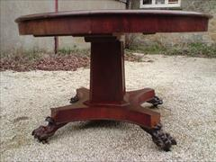 William IV mahogany extending antique breakfast table2.jpg