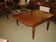 Regency mahogany extending antique dining table1.jpg