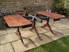 George III period mahogany Sunderland antique dining table1.jpg