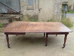 Regency mahogany period antique dining table3.jpg