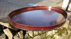Antique Bulters Tray 27w 21d 3h 10.JPG