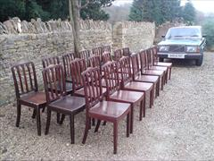 set of 19 George III period mahogany antique dining chairs2.jpg