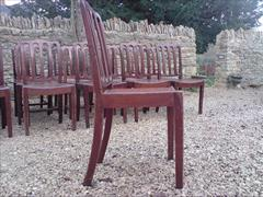 set of 19 George III period mahogany antique dining chairs3.jpg