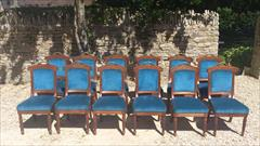 Set of 12 comfortable antique dining chairs1.jpg