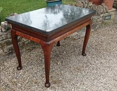 Antique Console Table Belgian Fossil 116cmw 70d maxatfeet 63cmd at knee 76h and 102x58cm at marble _8.JPG