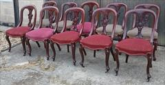 10 antique dining chairs 35h 19d 19h seat 18d seat _6.JPG