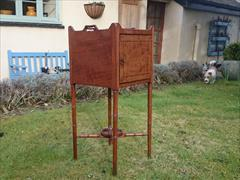 Antique Bedside Cupboard 14 by 14 by 32 high_4.JPG