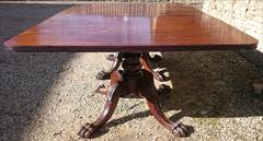 Twin Pedestal Antique Regency Mahogany Dining Table 145cm 57W 74cm 29H 236cm 93L w leaf 208cm 82L wo leaf  _14.JPG