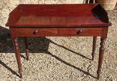 Antique Mahogany Dressing Table Washstand Attrib Gillow 20½d 42½w 30h 33½h 1.JPG