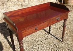 Antique Mahogany Dressing Table Washstand Attrib Gillow 20½d 42½w 30h 33½h 9.JPG